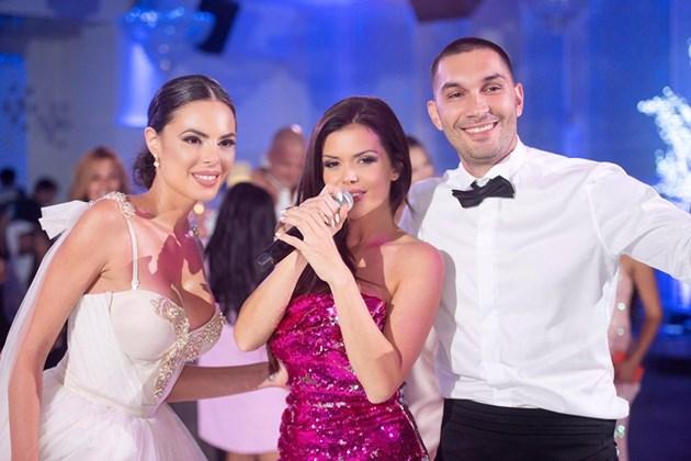 Преслава пее на сватбата на сина на Аян Садъков