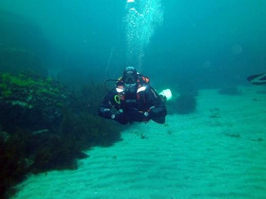 Водолази чистиха морето край остров Света Анастасия