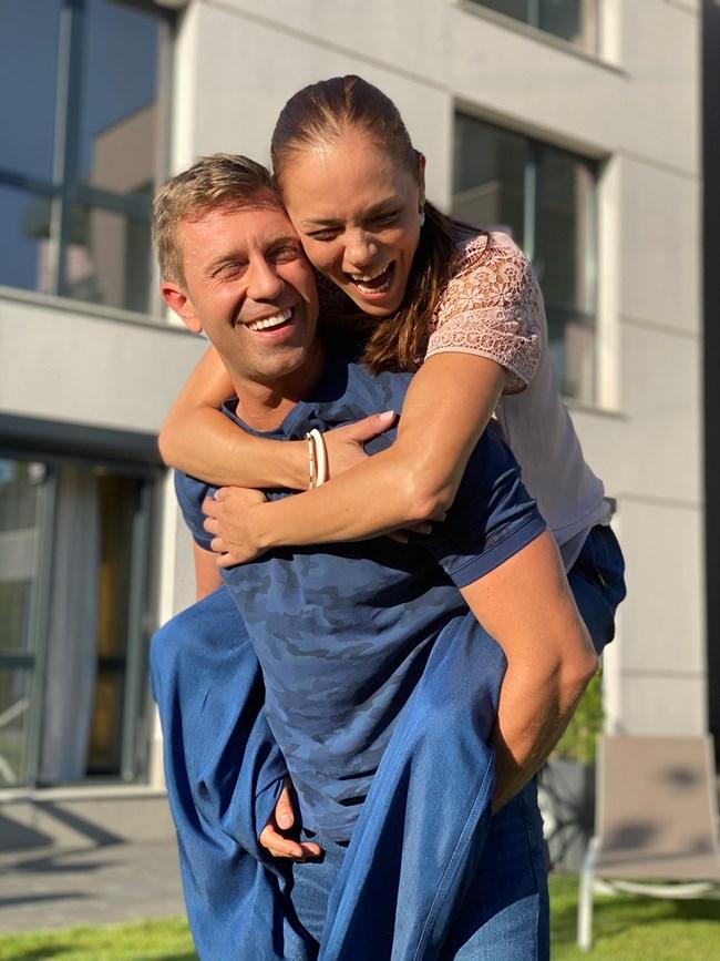 С колегата си Калин Врачански