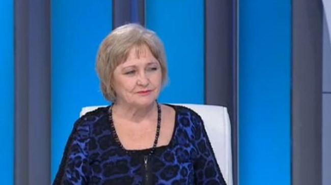 Проф. Донка Байкова СНИМКА: БНТ