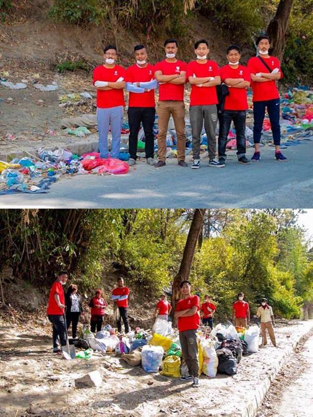 Нова мания:Снимаш боклук и го чистиш