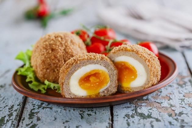 Яйца по шотландски на фурна