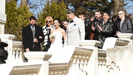 Елена Петрова и Кирил Ефремов вдигнаха сватба