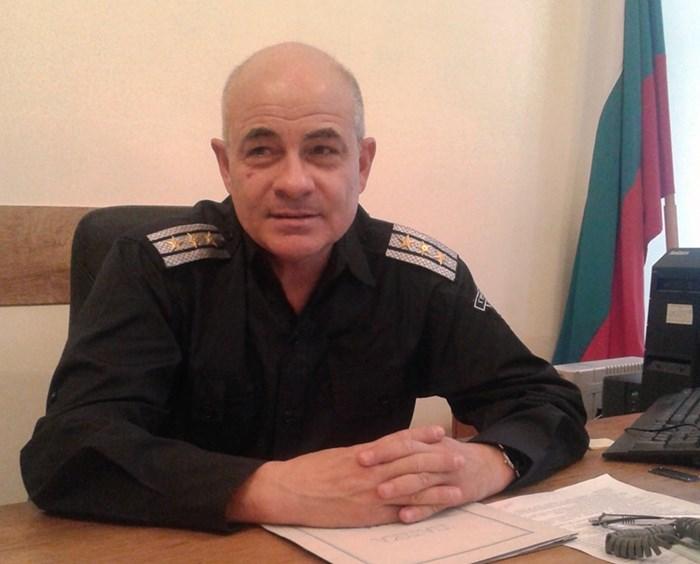 "Шефът на ""Охранителна полиция и КАТ"" съм ОДМВР-Бургас комисар Неделчо Рачев."