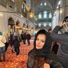 Преси се забули като арабска принцеса
