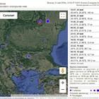 Земетресение край Вранча