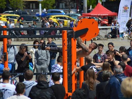 Брейк шоу, стрийт фитнес и паркур в Ърбан зоната тази неделя