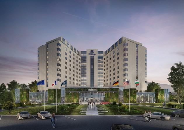 Петзвездният хотел Hilton Sofia влезе във фокуса на Building Innovation Forum 2021