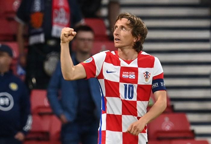 Капитанът на Хърватия Лука Модрич вече притежава два национални рекорда на европейско първенство. Снимка: Ройтерс