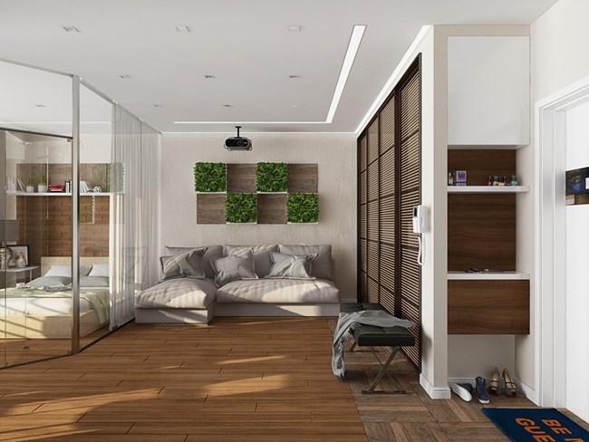 Жилището е много светло и просторно Снимки design-homes.ru