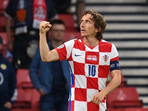 Лука Модрич вече е най-младият и най-стар хърватин с гол на еврофинали