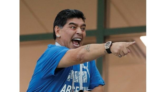 Марадона печели дело за 150 бона