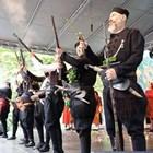 Историческа възстановка на освобождението на Банско на  фестивала Фолклорна магия