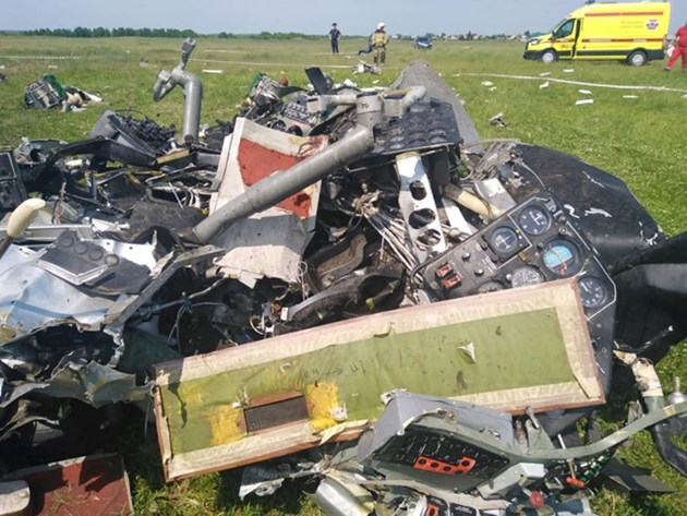 Разби се самолет с руски парашутисти, 9 жертви, 17 ранени