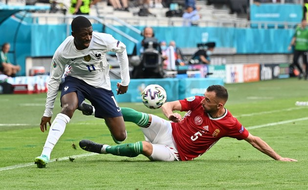 Усман Дембеле получи 14-а контузия в своята кариера на Евро 2020