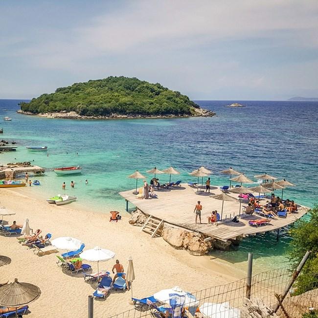 Адриатическото крайбрежие в Албания