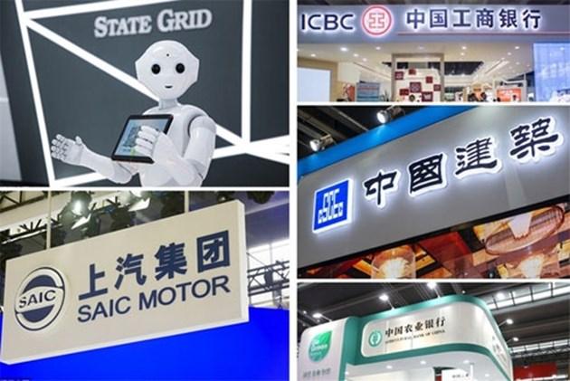 Топ китайски компании по оперативни приходи за 2019 година
