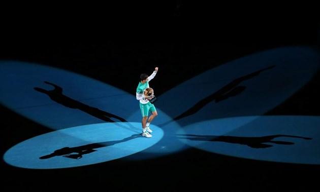 Новак Джокович спечели рекордна девета титла на откритото първенство на Австралия (Фотогалерия)