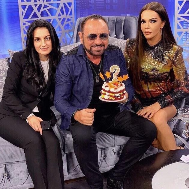 Миле Китич глези Галена с торта
