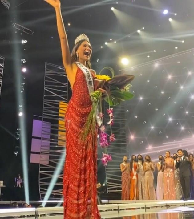 """Представителката на Мексико Андреа Меса спечели 69-ия конкурс """"Мис Вселена"""" СНИМКА: Инстаграм/missuniverse"""