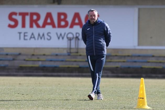 Стоянович е до отбора повече от седмица / Снимкa: Владимир Стоянов