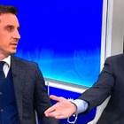 Рой Кийн и Гари Невил се скараха Спазарено ли е дербито