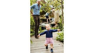 Кейт Мидълтън показа децата си в необятната горска градина, която проектира (Снимки)