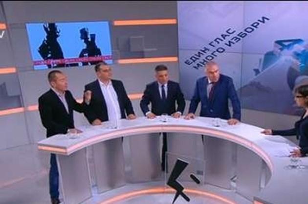 """Скандал: Марешки крещи на Джамбазки в ефир: """"Нещастник!"""""""