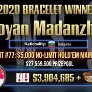 Българин спечели $ 3 904 685 за световен рекорд в онлайн покера (Видео)