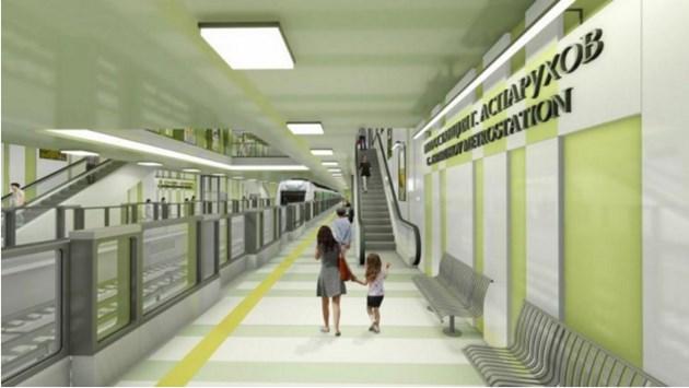 Показват новите метростанции