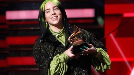 "Били Айлиш отвя наградите ""Грами"" (снимки)"