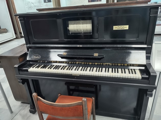 Пианото на Георги Минчев свири само