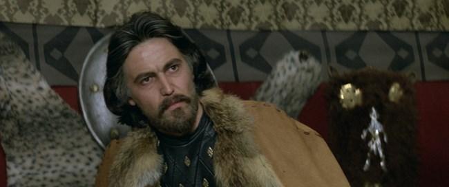 Стойко Пеев като хан Аспарух във филма.