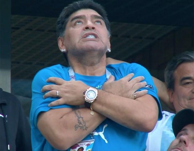 Марадона: Не съм арестуван
