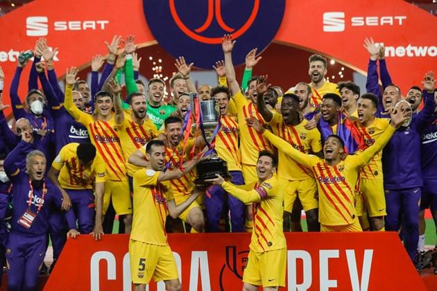 """""""Барселона"""" спечели Купата на краля за рекорден 31-ви път"""
