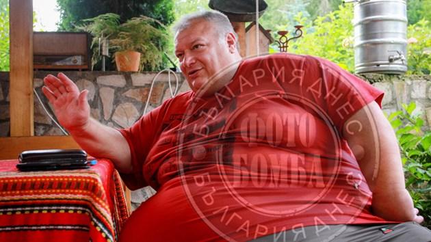 Най-дебелият българин е здрав като камък