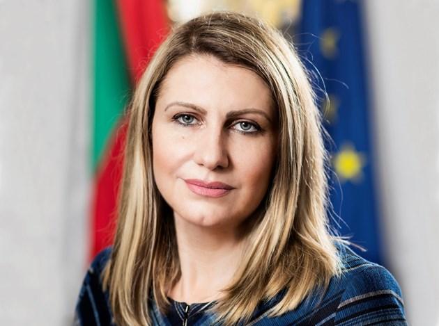 Министърът на правосъдието Десислава Ахладова