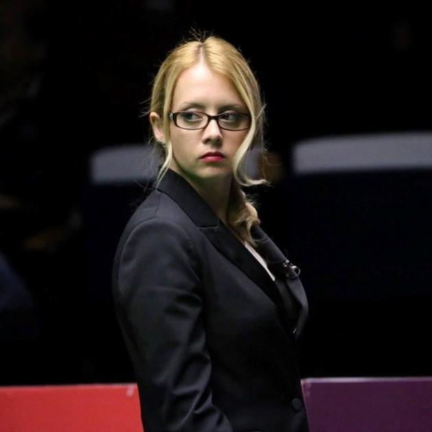Десислава Божилова, рефер по снукър: Приех на шега, че съм най-секси съдийка