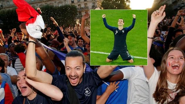 Франция е първият финалист на Световното (Видео и снимки)