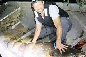 Рибата е близо 100 кг