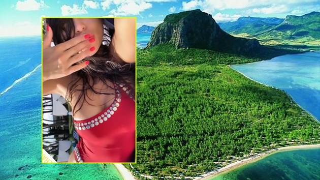 Алисия крие чичко паричко на Мавриций