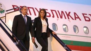 Десислава Радева с костюм с панталон в Азербайджан (Снимки)