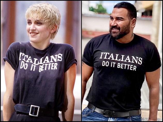 Азис и Мадона с много общо