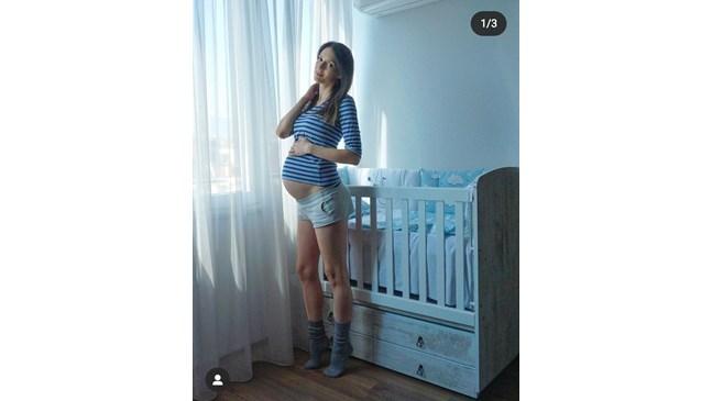 Бременната Луиза Григорова подготви стаята за сина си