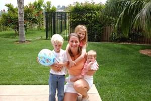 Мелинда Гейтс с трите им деца като малки