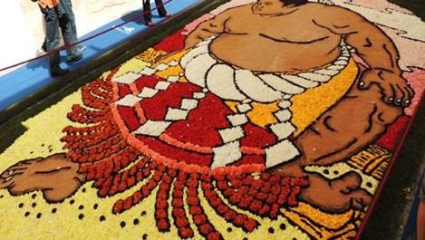 Фестивалът на цветята в Италия сътвори шедьоври (снимки)