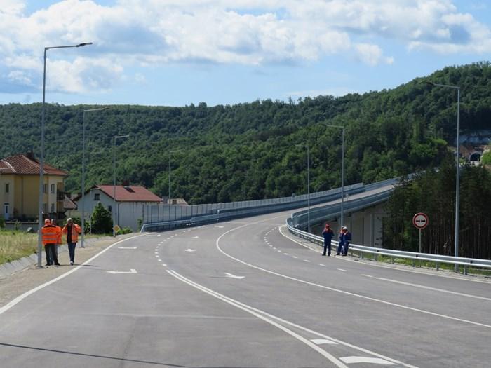 Обходният път на Габрово, който трябва да отвежда към тунела под Шипка
