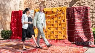 Мароканската приказка на Меган и Хари (Снимки)