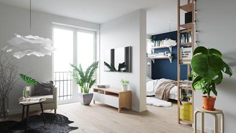 Ефирност в малкото жилище (галерия)