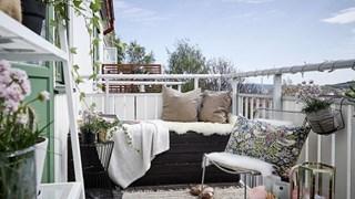 Идеи за по-уютен балкон - втора част (галерия)